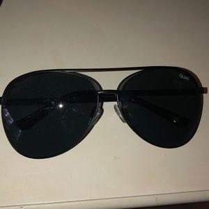 Quay Australia Vivienne Black/Smoke Sunglasses